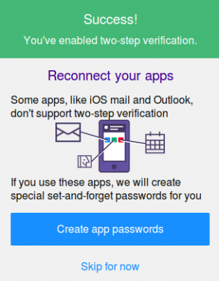 success-yahoo-2-step-verify